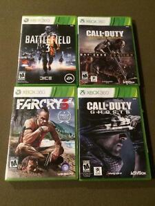 XBOX 360 almost new games