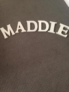 MADDIE Letters