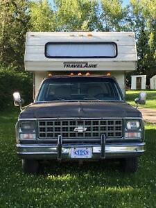 truck and camper combo unit