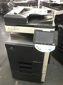 Konica Minolta Bizhub C253 Colour Laser Copier/Printer/Scanner/Toners full/Mint condition !