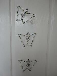 Brand new with tags Ganz hanging metal butterfly decor London Ontario image 7