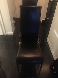 Chaises en cuir de Structube