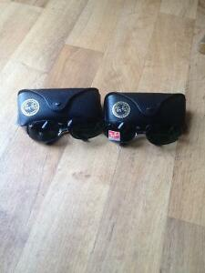 Genuine Ray Bans 2 pairs (Black)