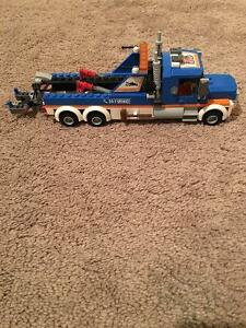 Lego tow truck