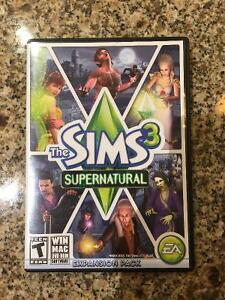 Sims 3 Supernatural Expansion Pack+Box/Paperwork