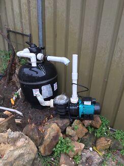 Pool Filter and Pool Pump