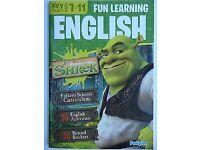 ***NEW*** Shrek Fun Learning English Key Stage 2 (7 - 11) Years Workbook