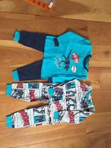 New! Pekkle 2 pack of pjs size 2-3