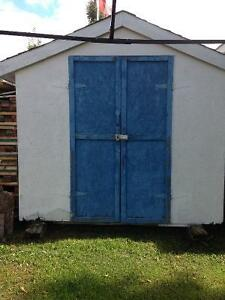 """8"""" x 14""""  STORAGE AND GARDEN SHED"""