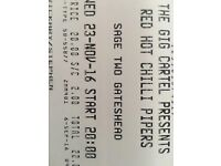 Red Hot Chilli Pipers tickets x2 The Sage 23/11/16