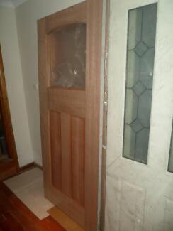 Brand New in a package meranti  external doors RRP $420