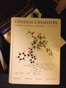 General chemistry and psychology textbooks