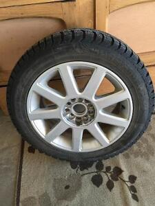 Buy 3 Get One Free! 4 Winter Tires on Winter Alloy Rims Cambridge Kitchener Area image 1