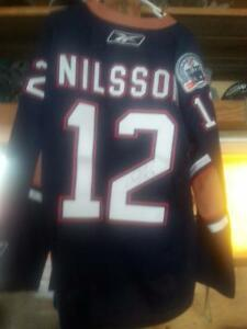 Nilsson - signed Oilers Jersey