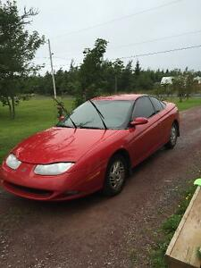 2001 Saturn S-Series Coupe