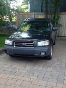 2005 Subaru Forester- selling as is