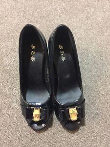 Black high heeled size 38/39 Burwood Burwood Area Preview