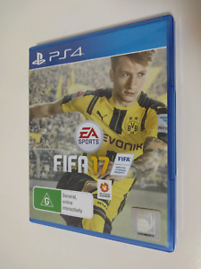 FIFA 17 PS4 Game St Leonards Willoughby Area Preview