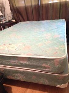 Double Bed Mattress & Box Spring