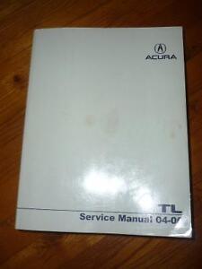 Livre manuel service ACURA
