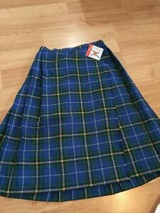 New with tags! Plaid kilt - 8 - 14 years