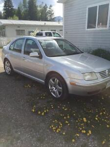 Silver 2003 VW Jetta 1.8L Gas Turbo