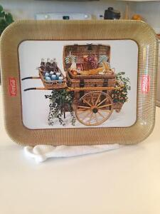 """Coca Cola ""1958 Cabaret/ serving tray /advertizing"