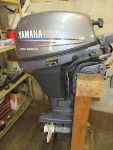 Yamaha 6hp 4 stroke with tank and hose