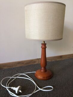 Wooden Based Lamp