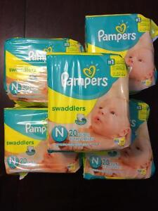 Couches pampers newborn