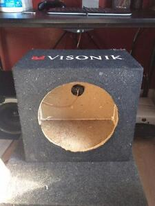 "Visonik 8"" Subwoofer box"