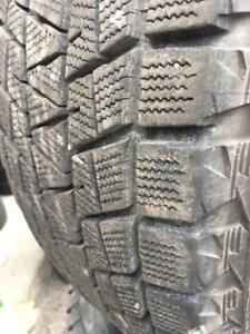 265/65/18 Bridgestone blizzak 9-10/32