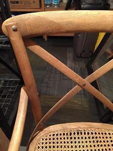 2 rustic wood chairs Regina Regina Area image 2