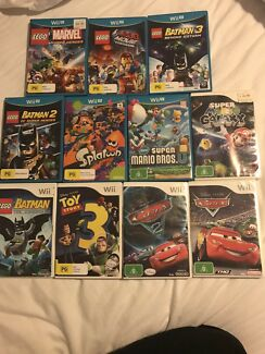 11 Wii & Wii U games from $12 all prices in description Lego Mario