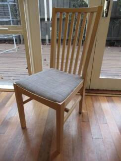 Very new Ikea Norrnas dining chair x 6