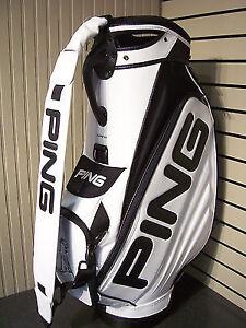 Ping Tour/Staff Bag White/Black Cambridge Kitchener Area image 1