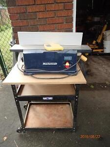 """6-1/8"""" jointer/planer on stand"""