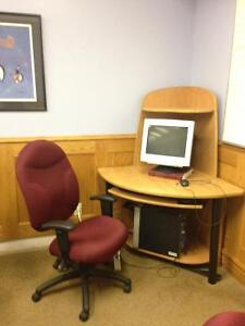 Perfect for school or office. Have 5 point Ergo Desk Chairs Cambridge Kitchener Area image 2