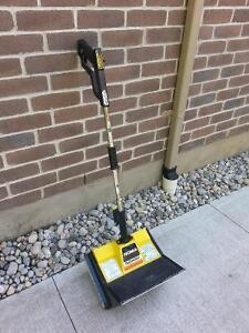 Snowblower shovel