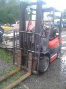 TOYOTA FORKLIFT S  AND USED PARTS