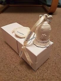 Pandora christmas bell ornament limited edition