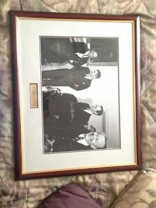 Signed by Three Prime Ministers Kitchener / Waterloo Kitchener Area image 1