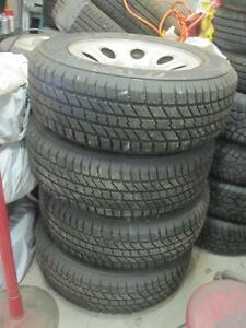 245-65-17 CHEVY RIMS &TIRES|100%TREAD LEFT ON THEM