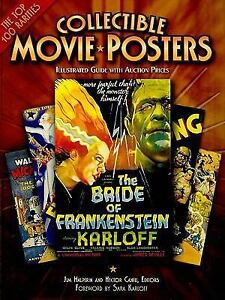 Collectible Movie Posters Illustrated Guide With Auction ...
