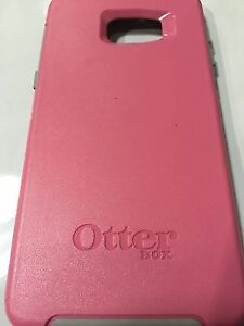 PINK SAMSUNG GALAXY S6 OTTER BOX FOR SALE!  $20 Peterborough Peterborough Area image 1