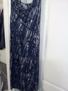 Dress, new but no tags, Green/grey/black, very nice Size M