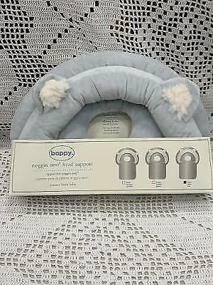 Pottery Barn Baby Boppy Bear Noggen Nest Head Support - New With Tags