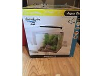 Aqua aspire 22 ltr fish tank