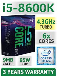 ★★★ Intel Core i7 - 8700K / 8600K Kits  ★★★