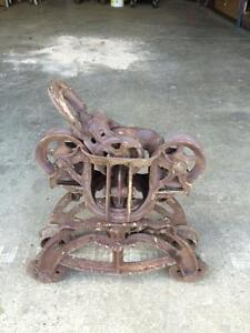 Antique trolley out of bank barn London Ontario image 2
